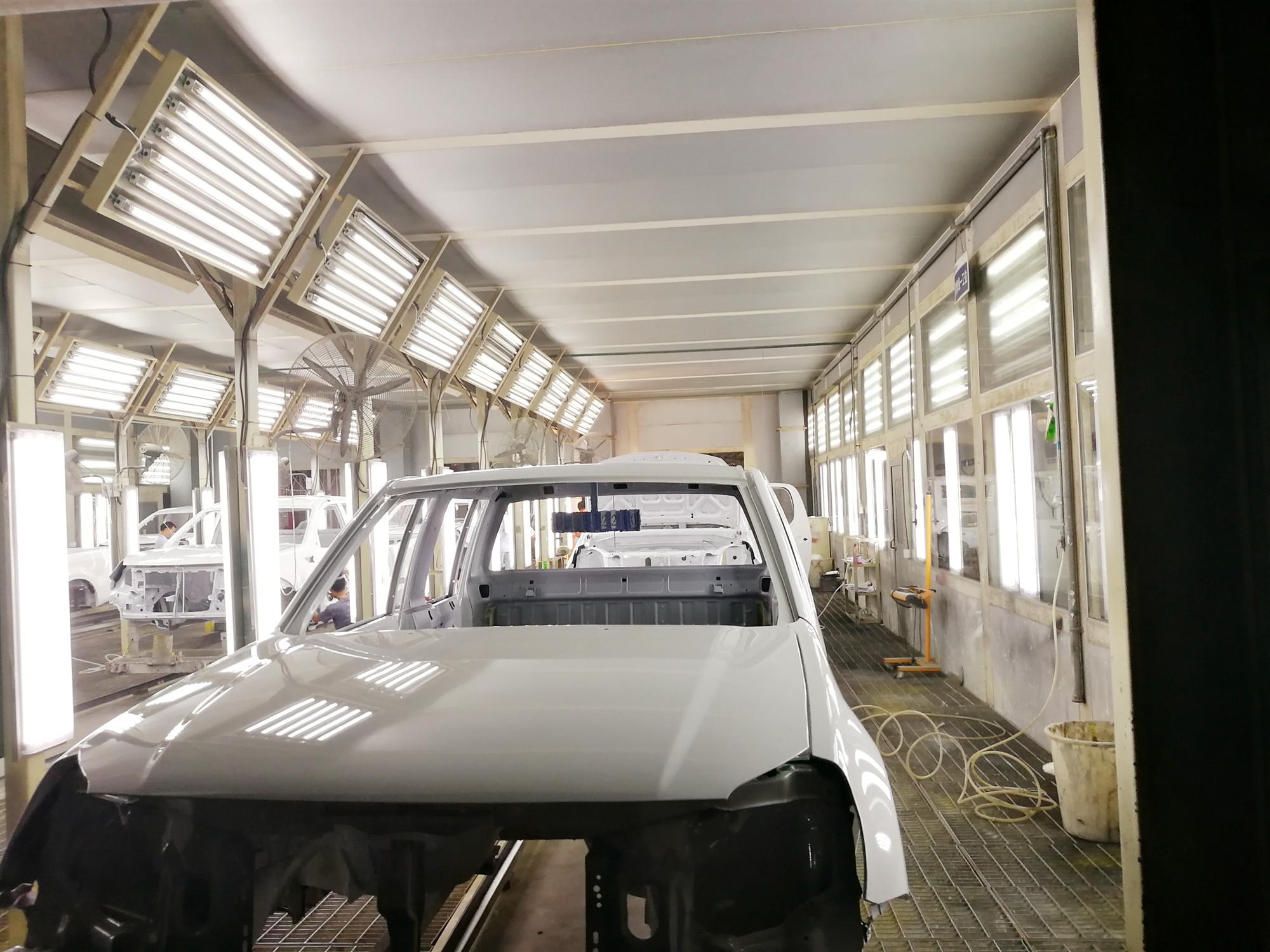 湖南汽车涂装生产线